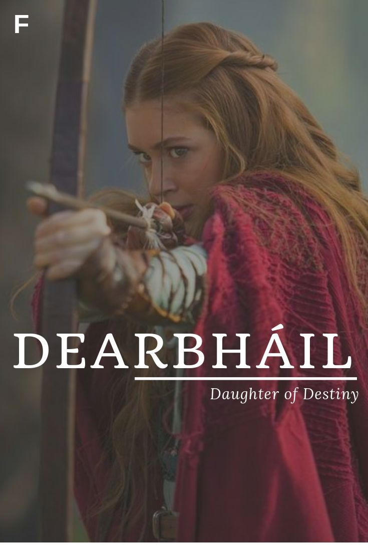 Dearbhail meaning Daughter of Destiny Irish names D baby