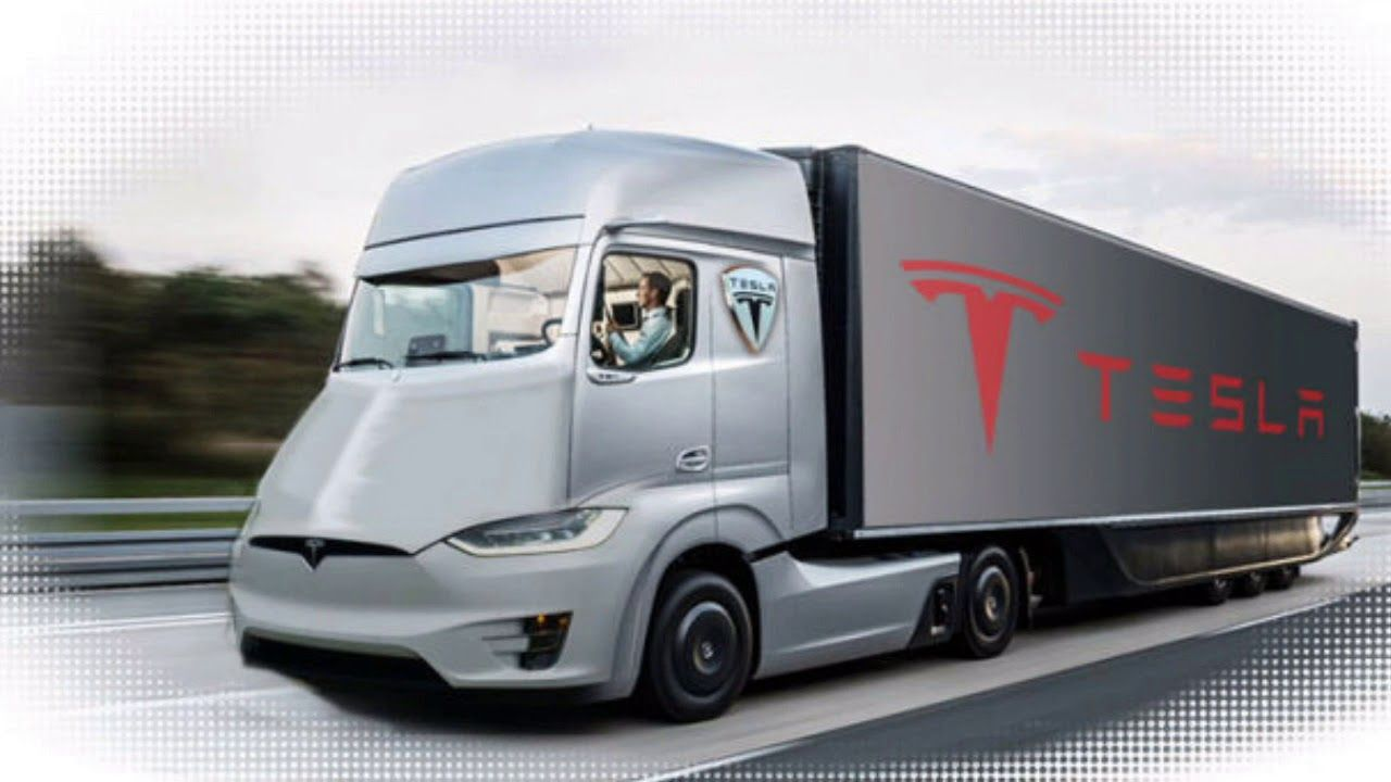 Look Tesla Semi Truck Inside Interior View Do You Want To Know