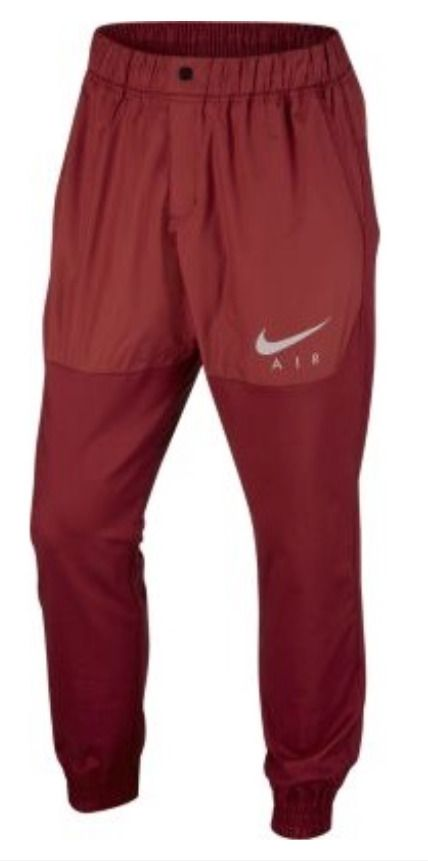 c5b21ab6da9 NWT NIKE Air Woven Jogger Slim Fit Active Pants 832204 674 Red Mens Size  2XL XXL #Nike #Pants