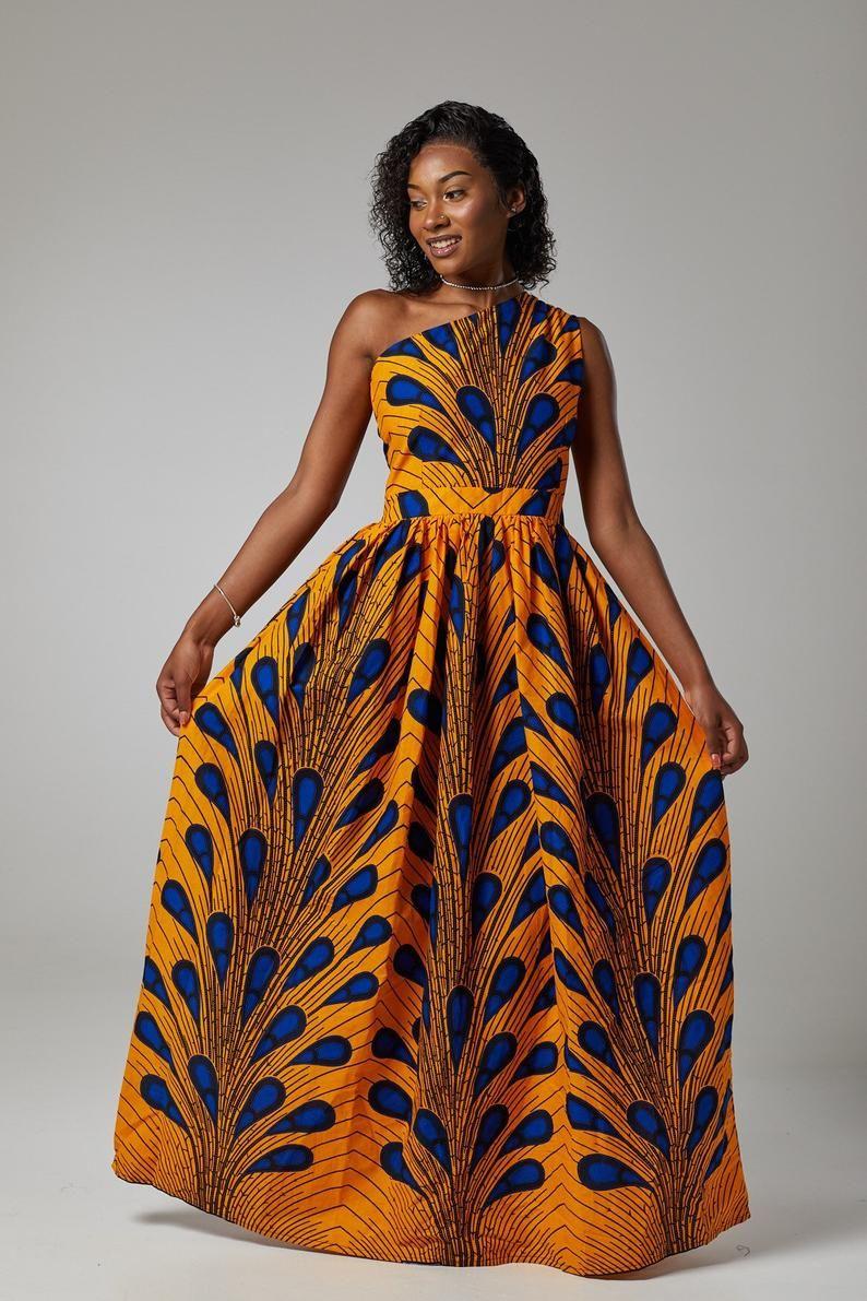 Orente Luxury Ankara Kitenge African Print Kente Summer Maxi Etsy Ankara Dress Summer Maxi African Traditional Wedding Dress [ 1191 x 794 Pixel ]