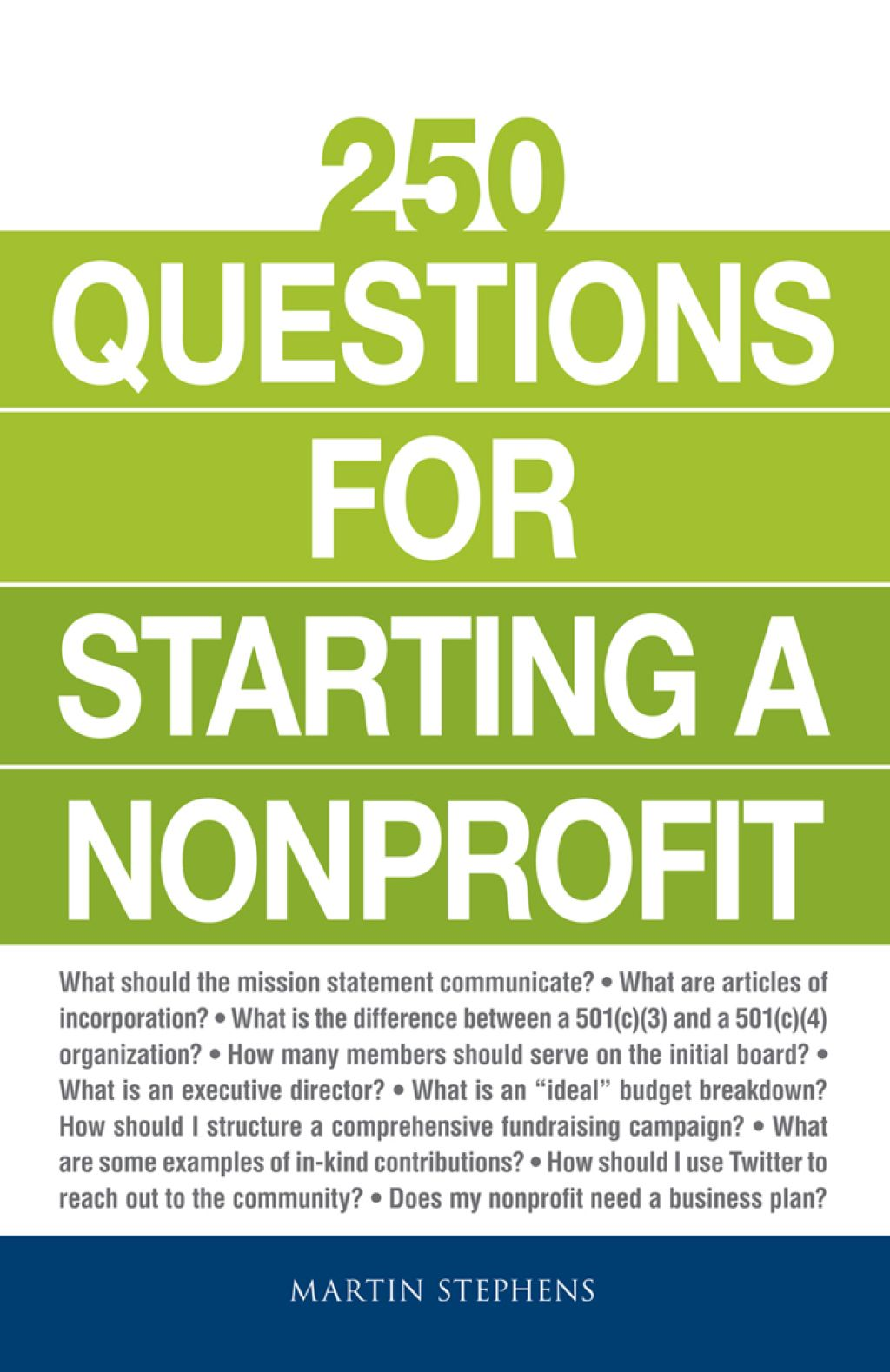 250 Questions for Starting a Nonprofit (eBook) This or