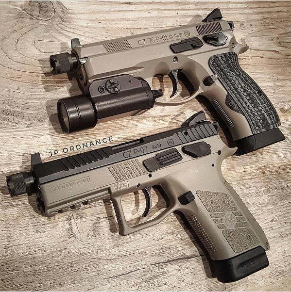 Sibling rivalry  The CZ P-01 or the P-07 | Mans corner