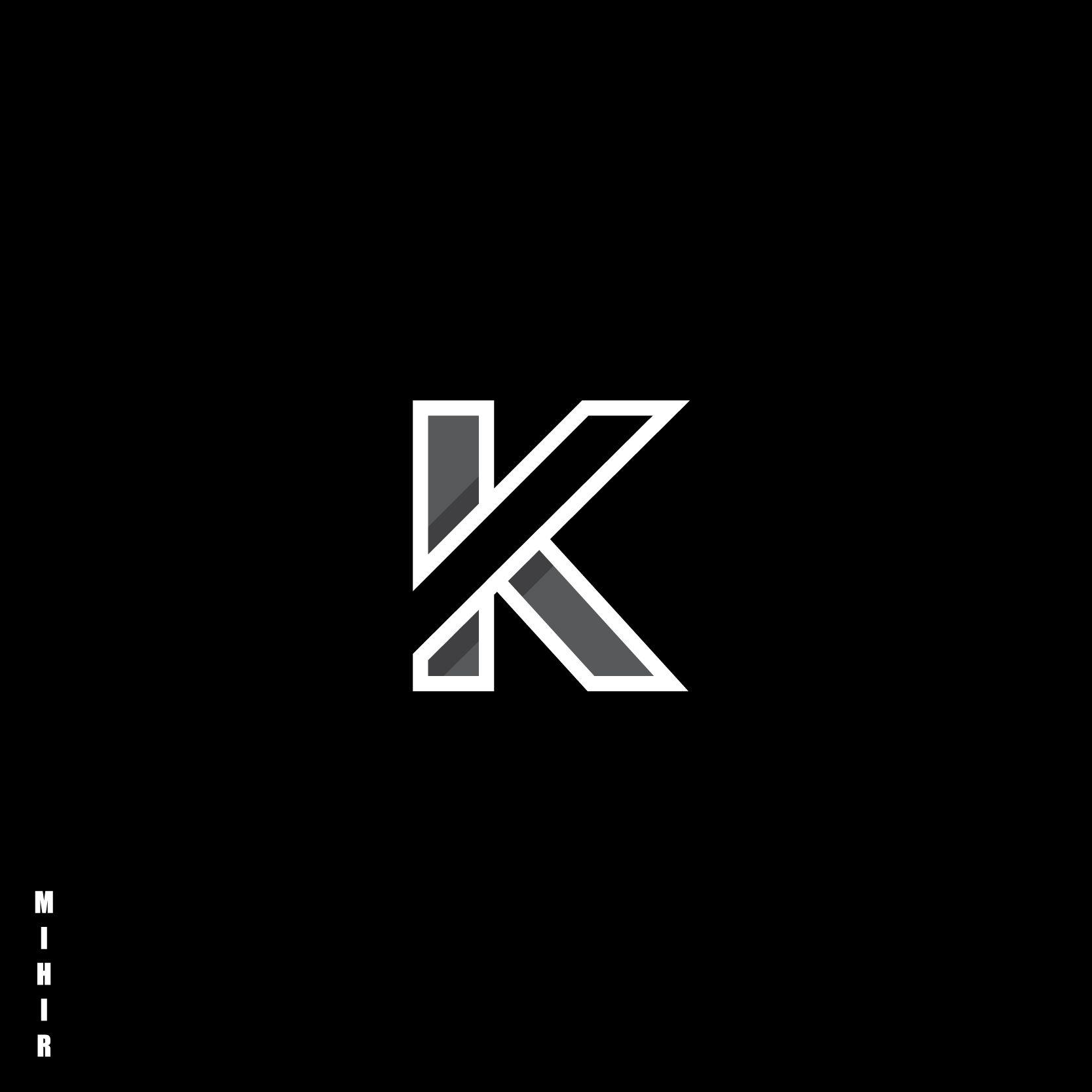 K Letter Logo Design Text Logo Design Letter Logo Design Online Logo Design Letter k k logo design hd