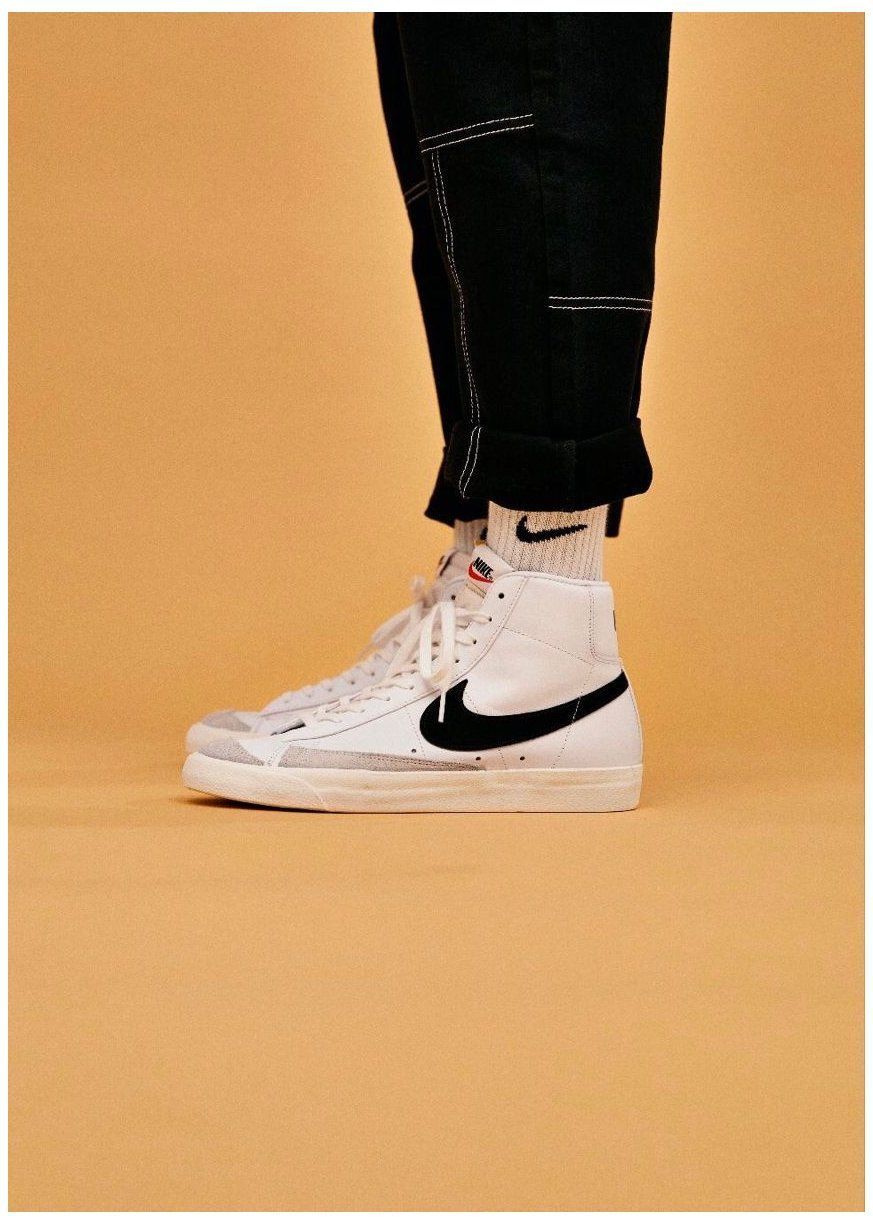 Nike Blazer Mid 77 Outfit in 2021 | Sneakers men fashion, Sneakers ...