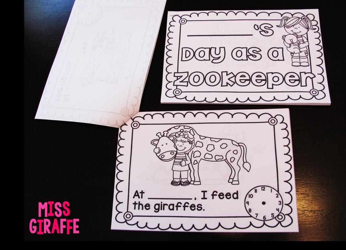 Miss Giraffe S Class Telling Time In First Grade