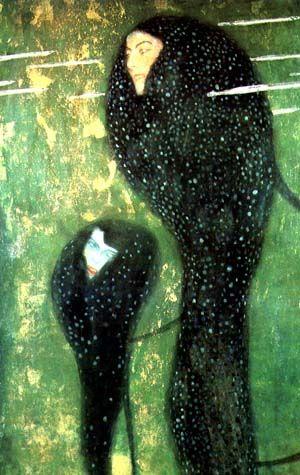 Klimt - Meerjungfrau