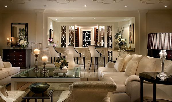 How To Decorate With An Old Hollywood Style Luxury Living Room