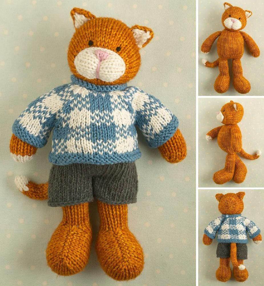 Boy cat boy cat eye patches and knitting patterns boy cat knitting pattern by little cotton rabbits this pattern contains over 50 detailed step bankloansurffo Choice Image