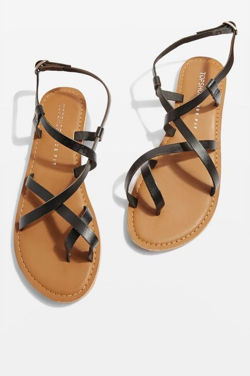 91ab47955bfbd7 Womens   Wide fit HICCUP Sandals - Black