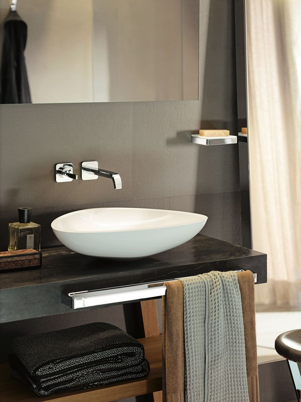 Axor Citterio E Wall-Mounted Single-Handle Faucet Trim | baterie ...