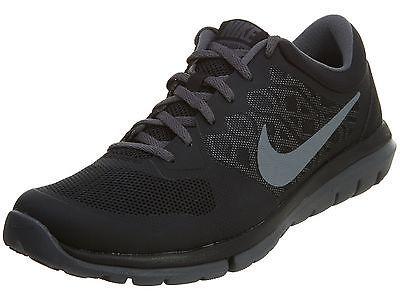 d0bde78ce099 Nike Flex 2015 RN Msl Mens 724933-011 Black Grey Athletic Running Shoes  Size 9.5