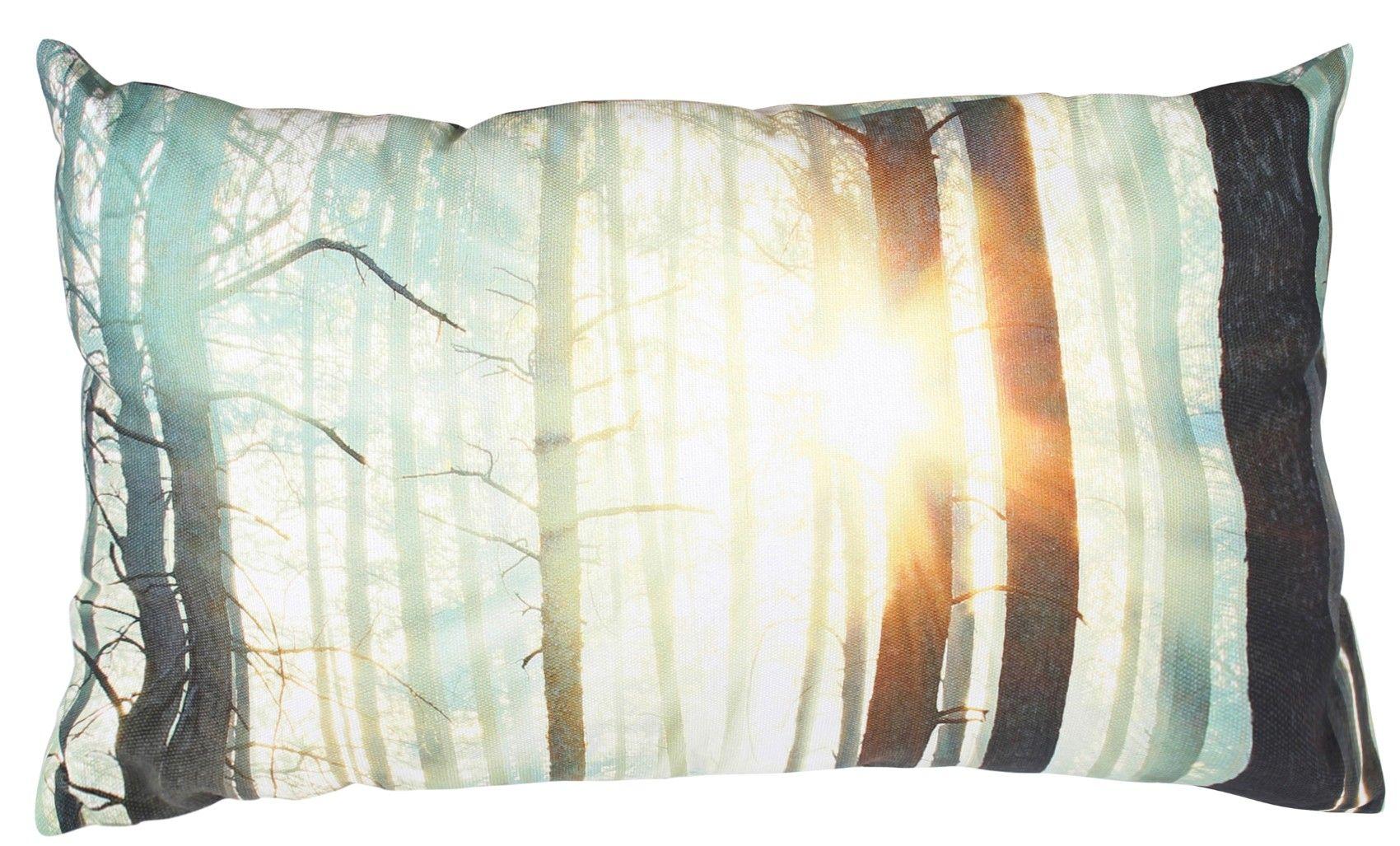 Essenza Kuschelkissen Forest Trees Green, 50 x 30 cm, ESSENZA - myToys.de