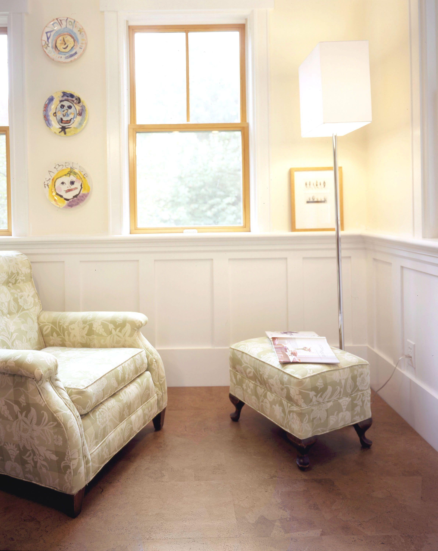 BedroomModern Style Victorian Bedroom With Cork Flooring