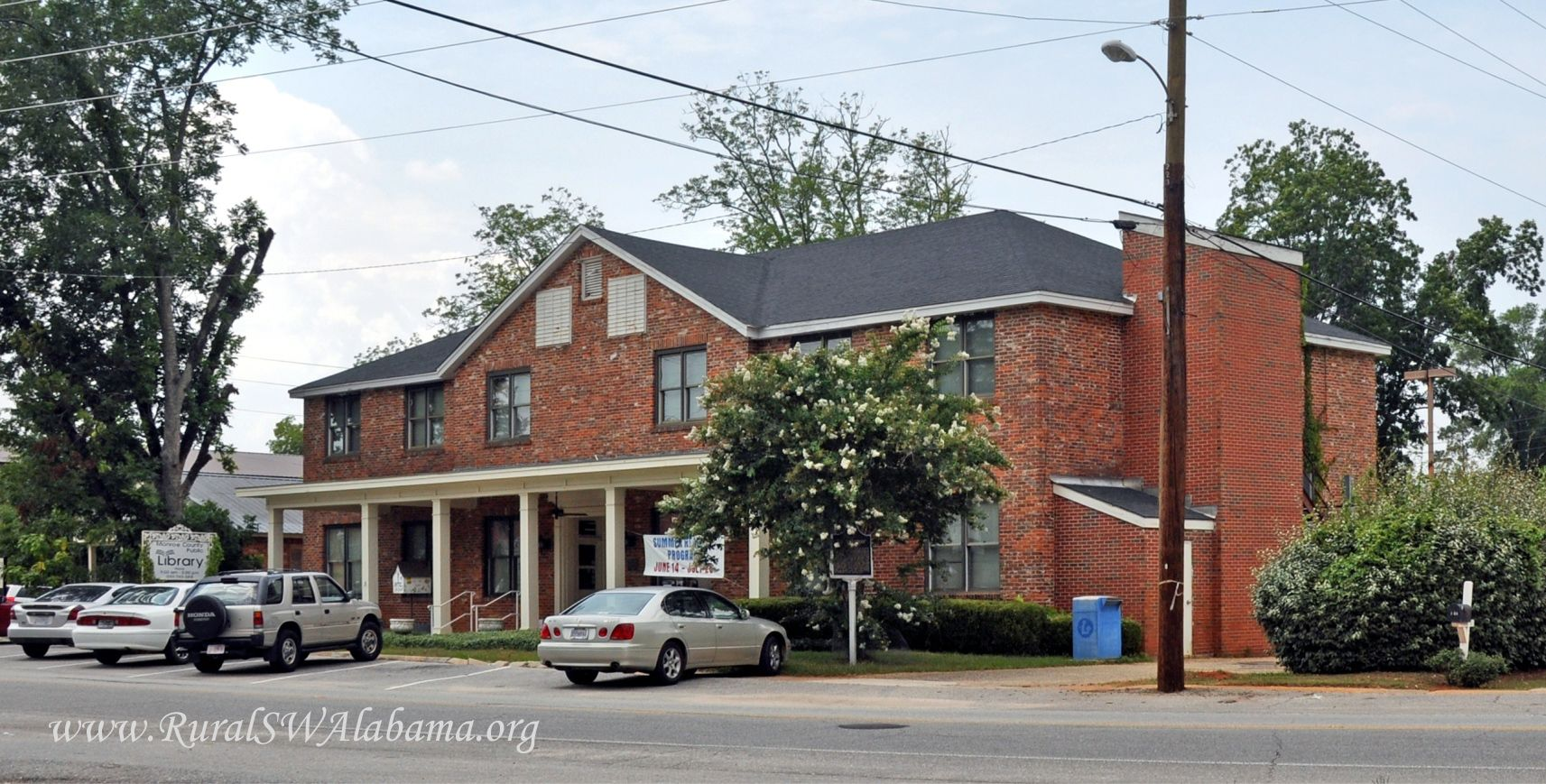 Old La Salle Hotel At Monroeville Al Now The Monroe County Public Library