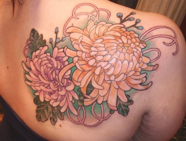 45 Beautiful Chrysanthemum Tattoo Ideas Cuded Chrysanthemum Tattoo Flower Tattoo Tattoos