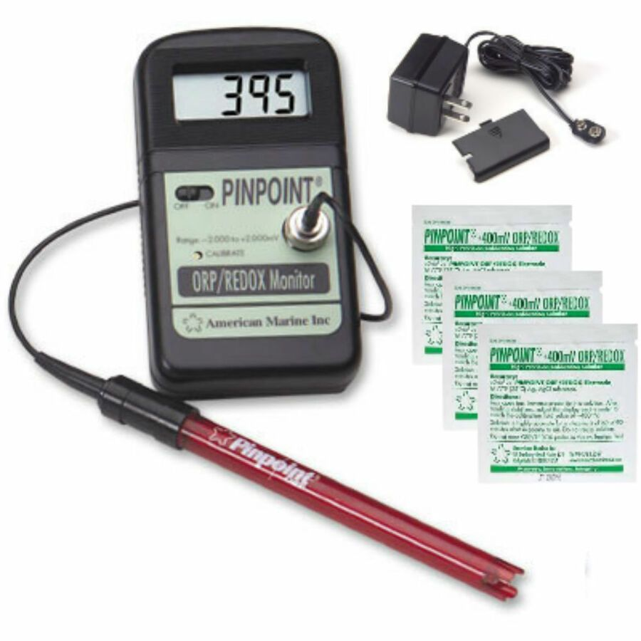 American Marine Pinpoint Orp Redox Monitor Package Ac Adapter Probe Fluid Kit Ad Sponsored Pet Supplies Plus Pet Supplies Wholesale Pet Supply Stores