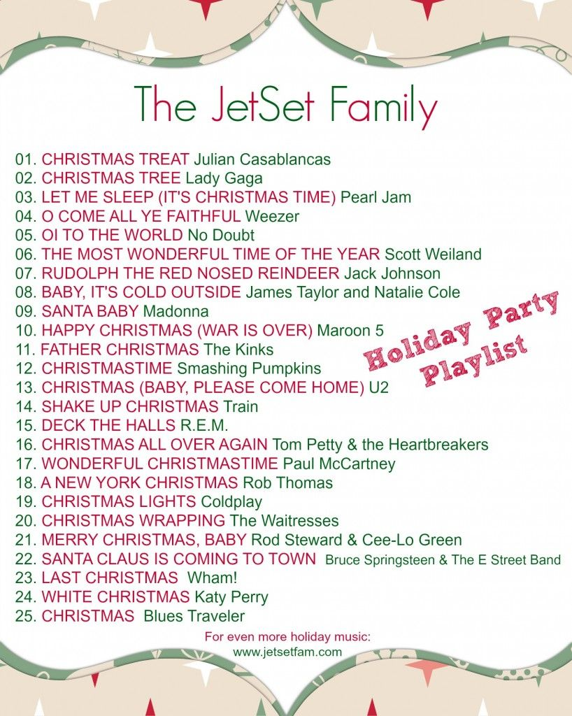 The Ultimate Holiday Songs Playlist Xmas songs