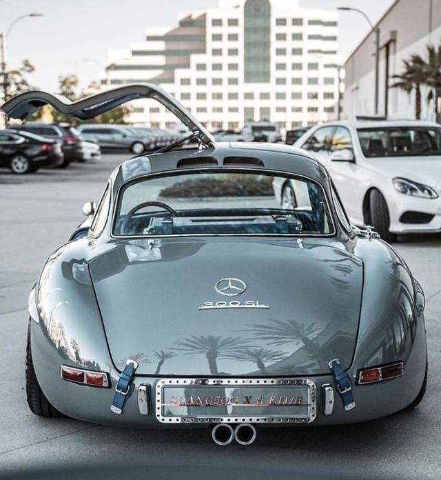 Mercedes 300 SL eines der kultigsten Autos aller Zeiten    super autos  #aller