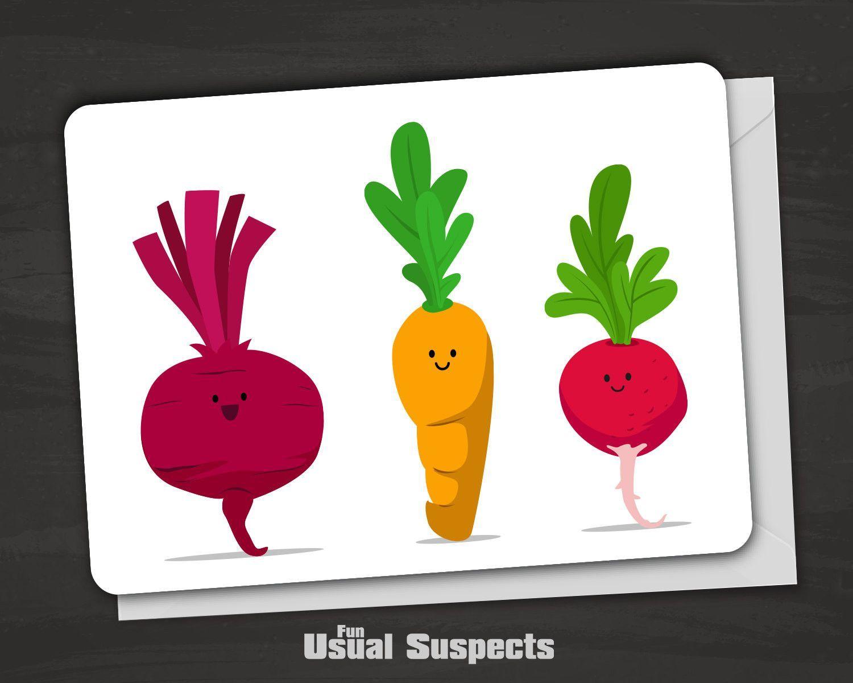 Encouragement card vegetable pun vegetable puns