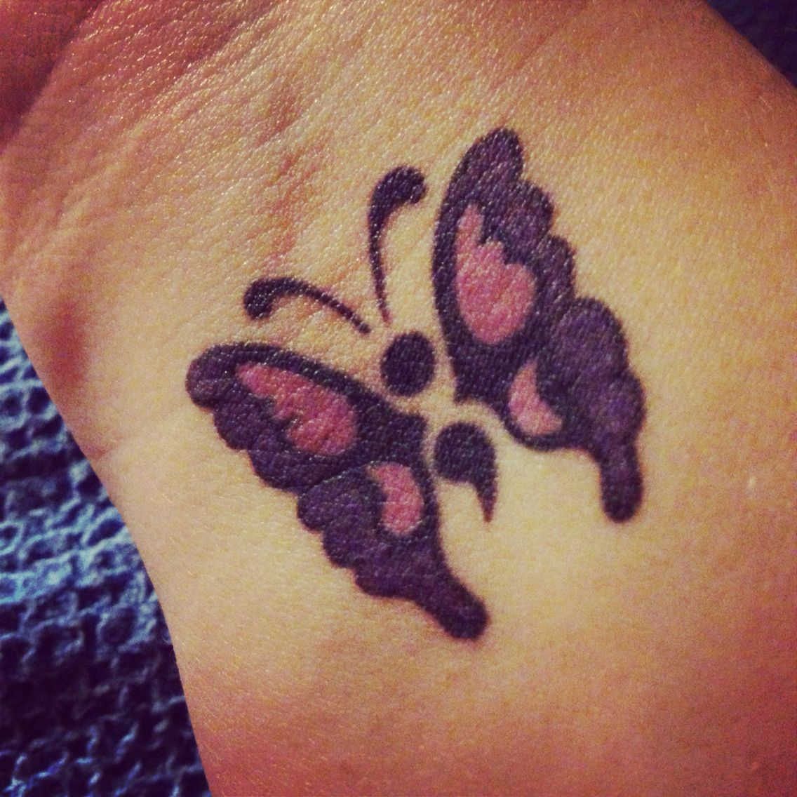 Anxiety Awareness Tattoo Google Search: Semi-colon Tattoo With Butterfly Wings. I Have Depression