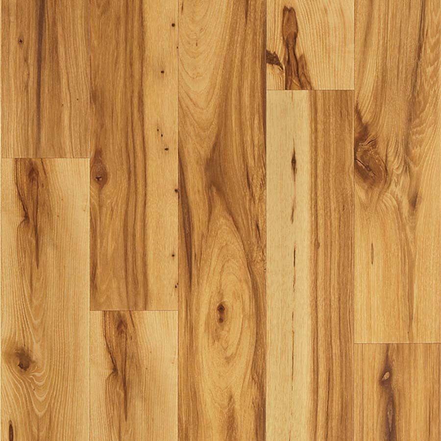 Hickory Wood Planks Laminate Flooring