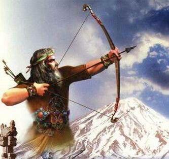 آرش کمانگیر (With images) | Persian warrior, Persian culture ...