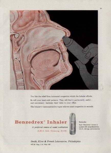 Adventures in Psychonautics: What's the Deal With: Benzedrex?