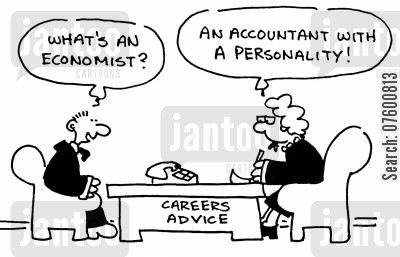 Economist Cartoon Humor Careers Advice Centre Accounting Humor Career Advisor Economist