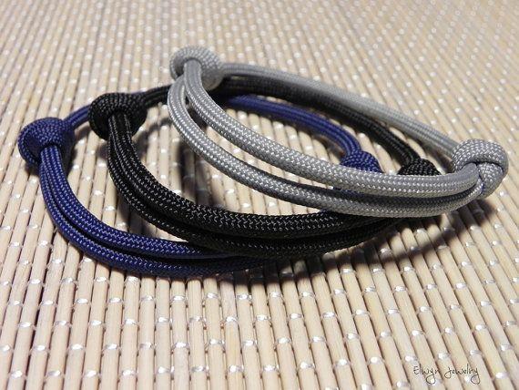 Simple Paracord Bracelet Brown Bracelet Men S By Elwynjewelry