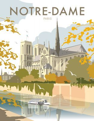 """Paris Notre-Dame art print This """"Notre Dame"""" photographic art print is created using state of the art, industry leading Digital printers. The result - a stunning reproduction at an affordable price."""