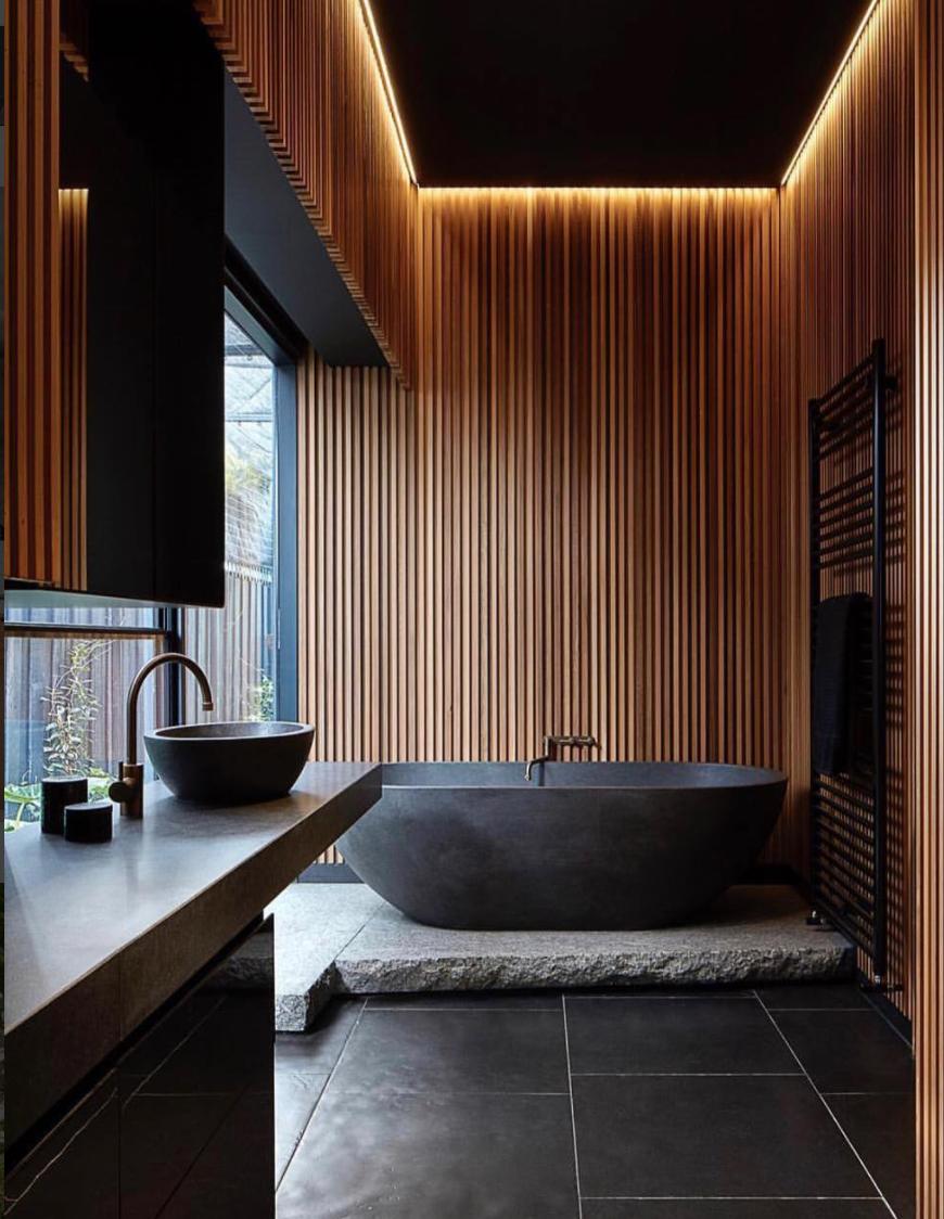 Not For Me But Love Everything About This Bathroom Bathroom Love In 2020 Badezimmer Design Innenarchitektur Japanisches Bad
