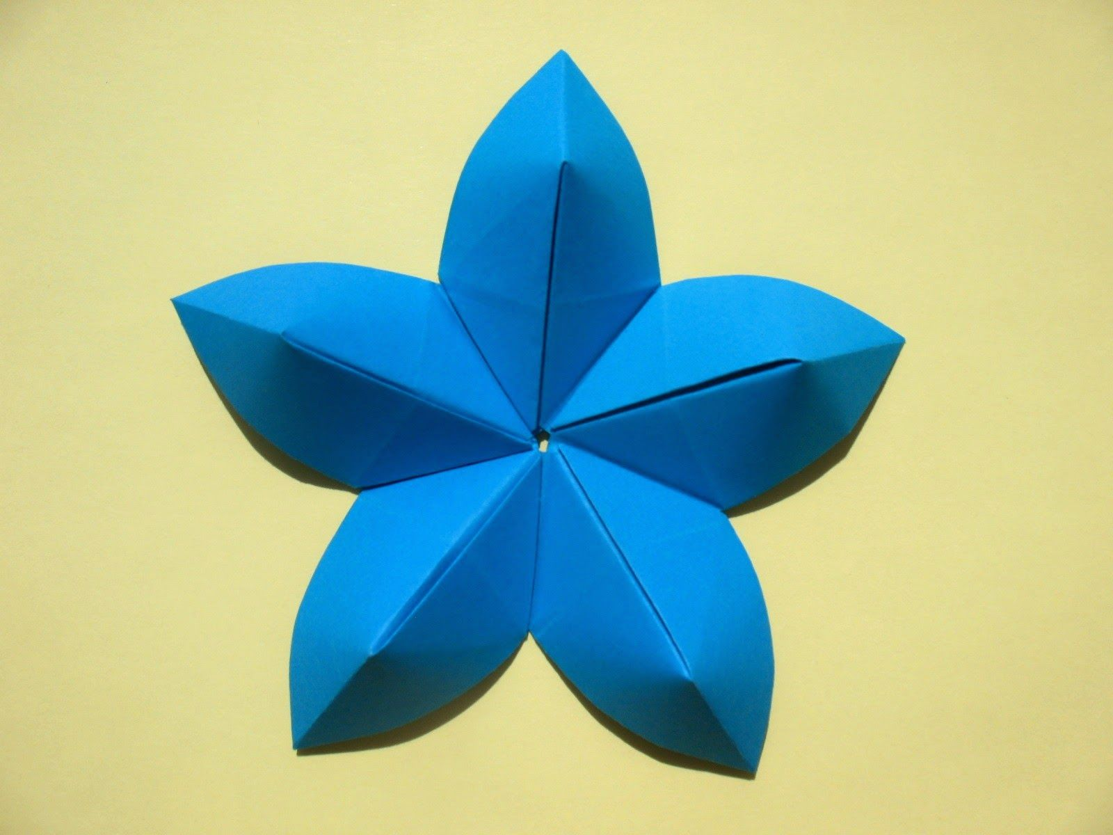 Origami art creativity new sakura origami origami flower you can obtain a clean result on this side a new personal origami model looks as the traditional sakura flowerthe same proporti mightylinksfo