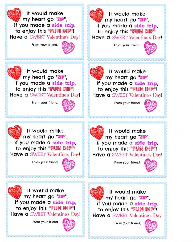 photo relating to Printable Kid Valentine Cards named A \