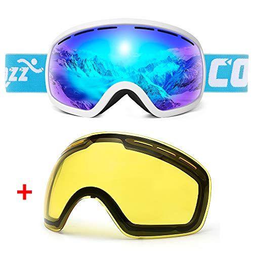 20ca589c53e2 COPOZZ Ski Goggles