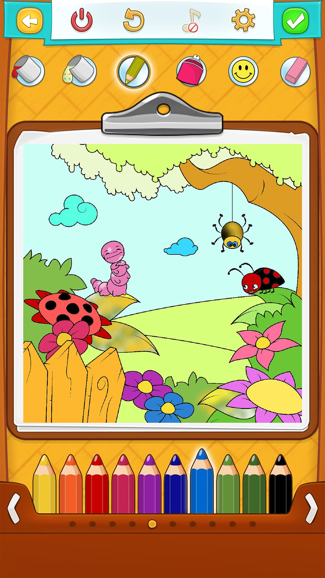 Spring Coloring Pages - Android, iPhone/iPad & Windows Phone App ...