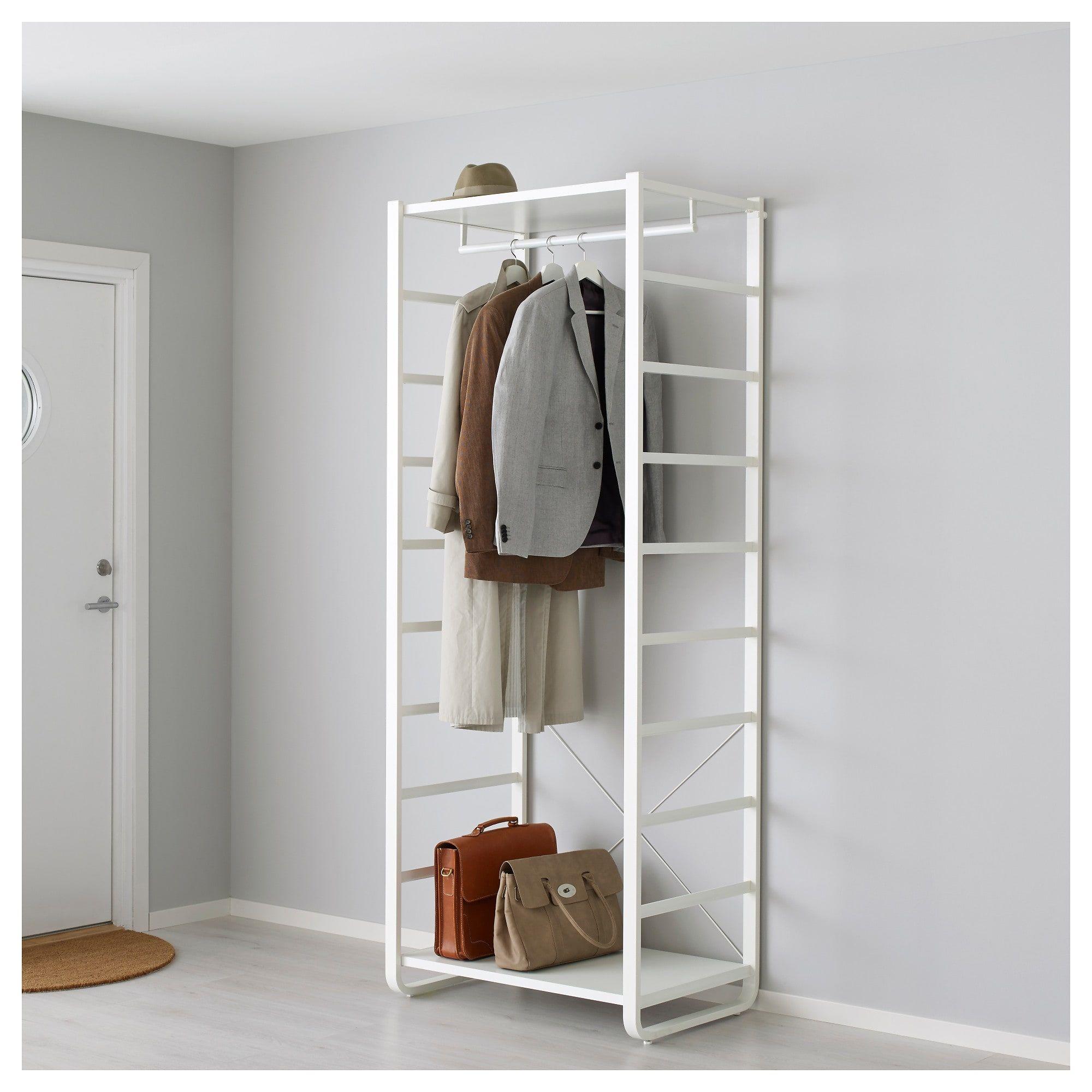elvarli shelf unit white home rangement rangement. Black Bedroom Furniture Sets. Home Design Ideas