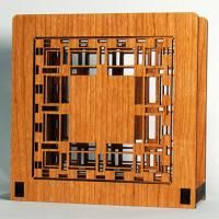 Laser Cut Wood Napkin Holders: D.D. Martin