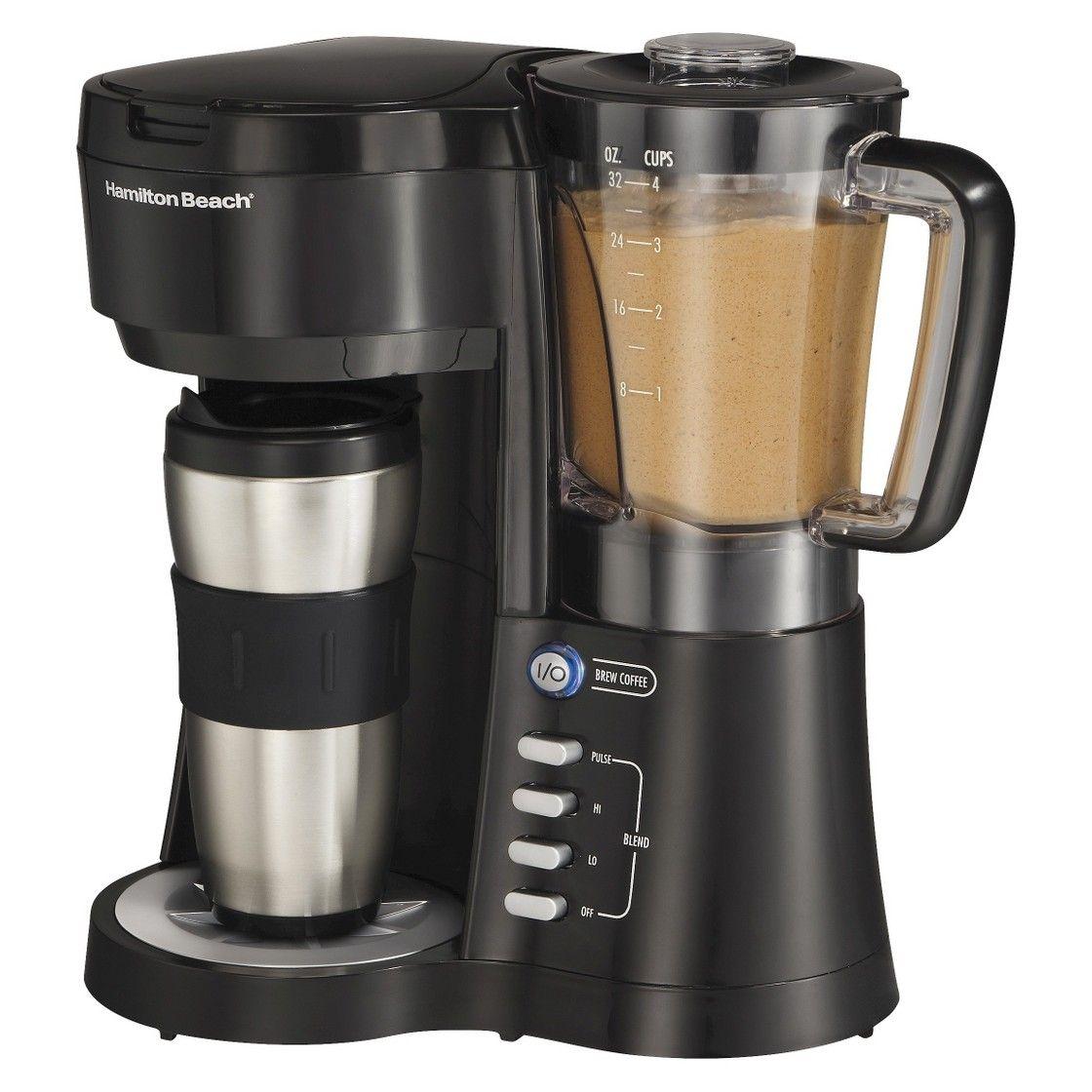 Hamilton Beach Java Blend Coffee Brewer/Blender | Blended ...