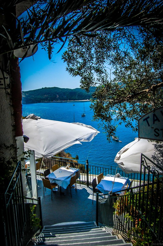 Steps to the sea, Parga, Greece