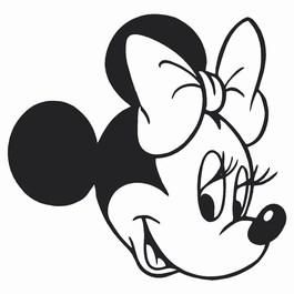 mini mouse head Colouring Pages | halloweenie stuff | Pinterest ...