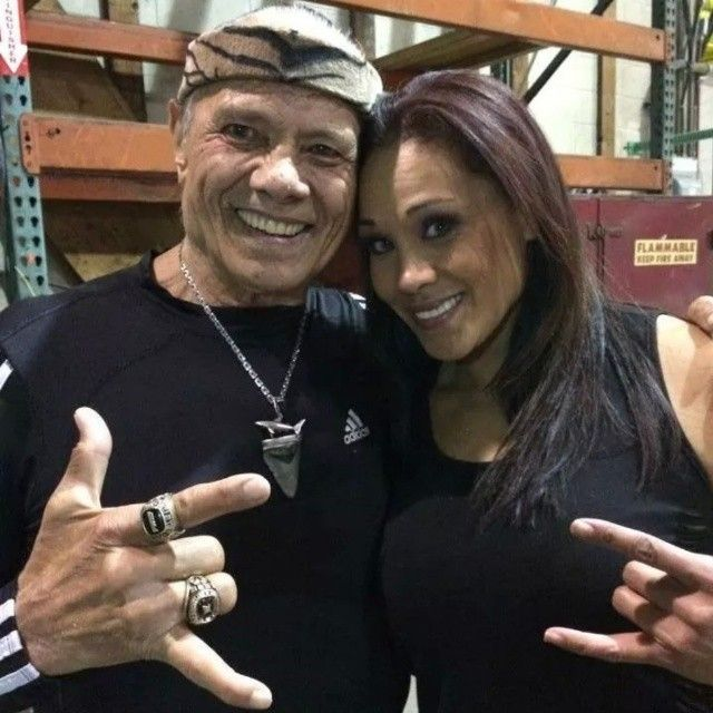 Image result for tamina and Jimmy Snuka