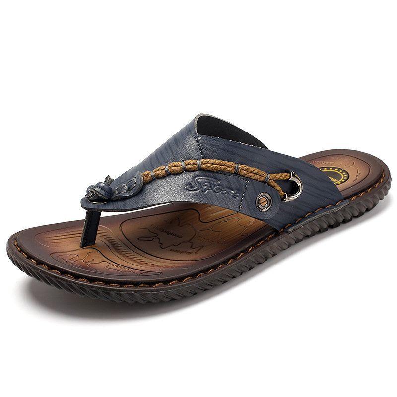 Hommes Clip Pantoufles Confortables Orteils Semelles Souples Sandales De Plage Occasionnels Plat 3JhtJ6wn