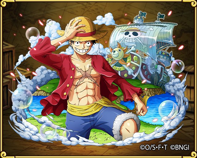 Monkey D Luffy Straw Hat Pirates Reunited One Piece Treasure Cruise Wiki Fandom Powered By Wikia モンキー D ルフィ トレクル ルフィ