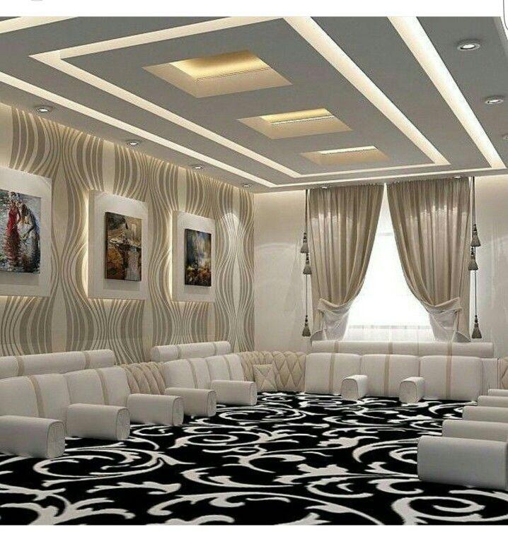 Bedroom Colors Decor Bedroom Door Decor Tumblr Bedroom Wall Bedroom Ceiling Designs Pop: Pin By Omjoory 1402 On جبس السقف