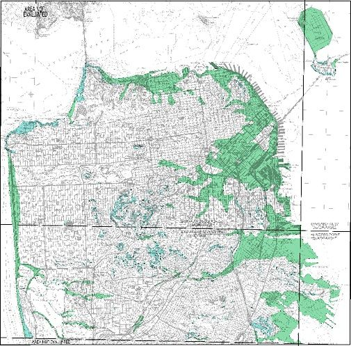 San Francisco Neighborhoods Prone To Liquefaction And ...