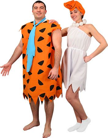 Wilma And Fred Flintstone Costumes For S