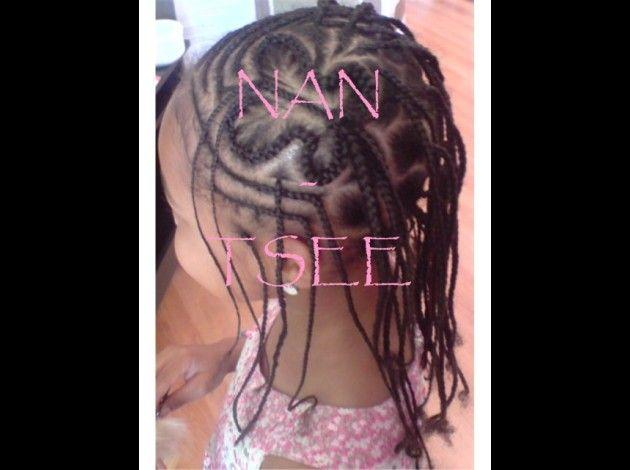 Tresse nattes enfants NanTsee Coiffure, Afro et Idées