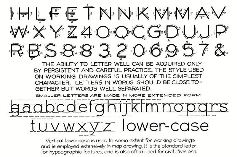 Essentials of Lettering: Chapter 2 (Technical lettering, Hand Roman, Italic, etc.)