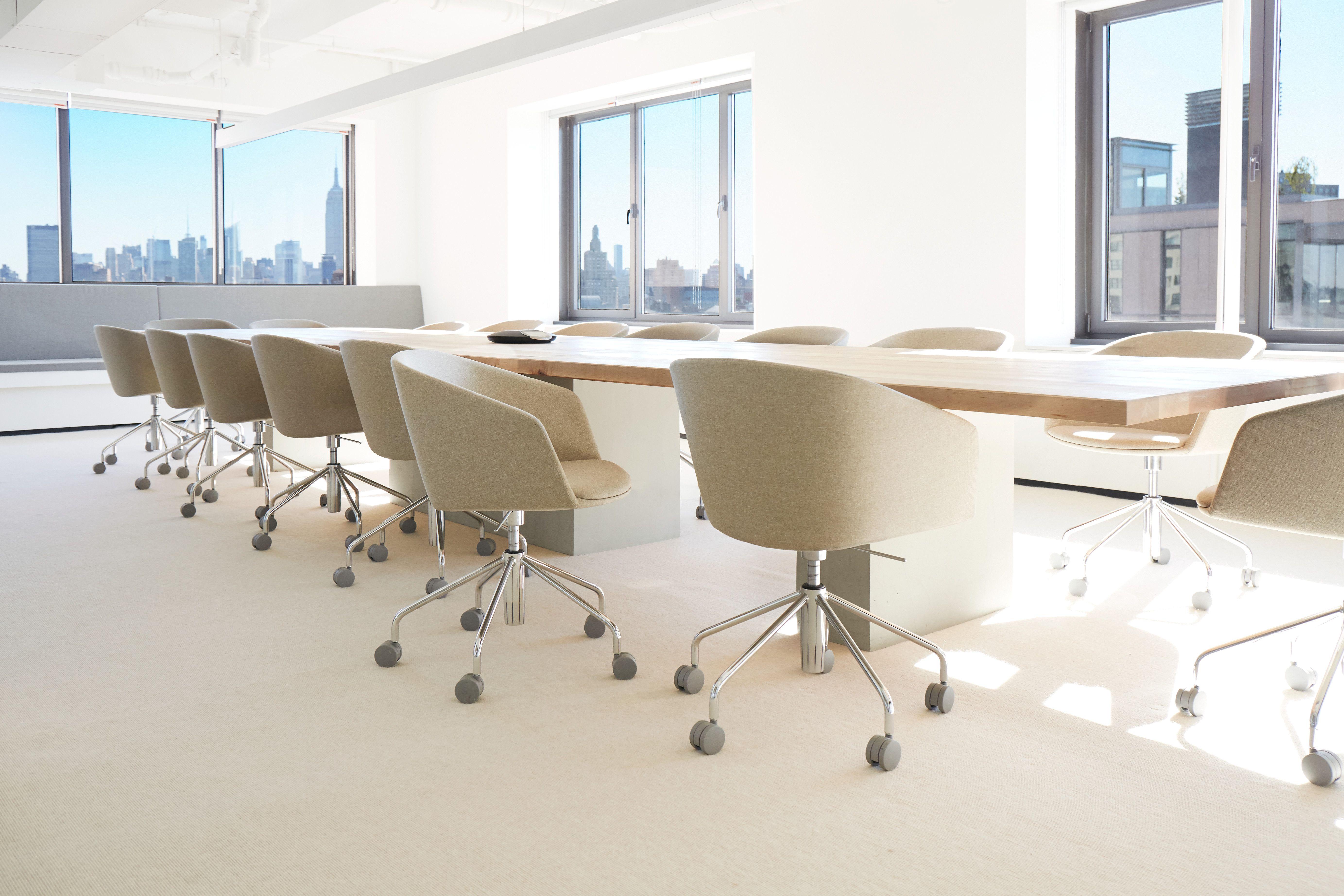 Office Goals X Poppin Meet The Khaki Pitch Meeting Chair