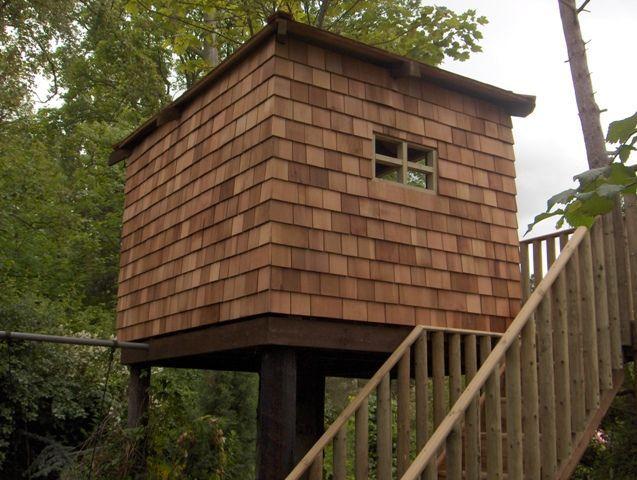 Best Western Red Cedar Shingle Treehouse Cedar Shingles 400 x 300